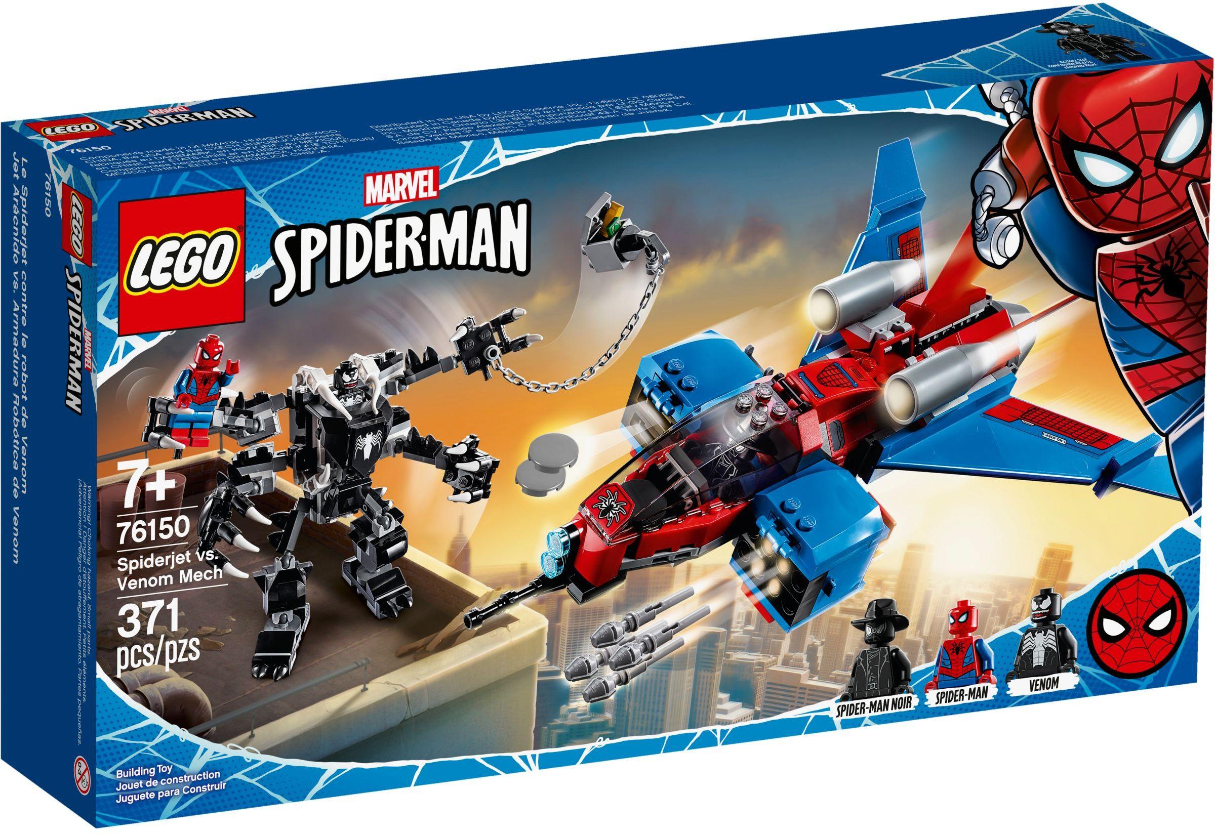 76150 Spider-Jet vs. Venom Mech