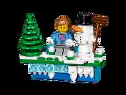 853663 Aimant de Noël emblématique 2