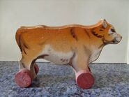 Wood cow5