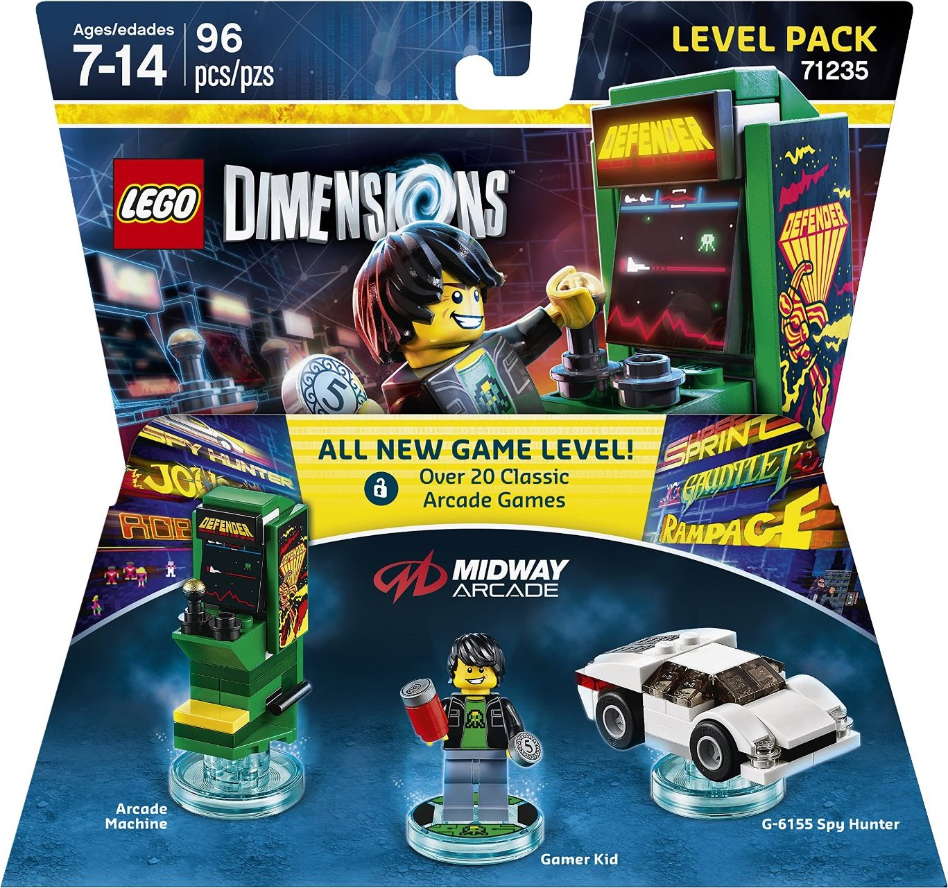 71235 Midway Arcade Level Pack