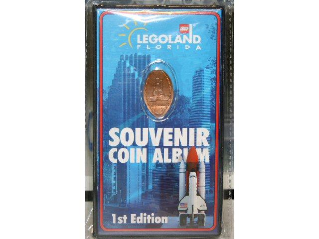 LEGOLAND Florida Souvenir Coin Album 1st Edition