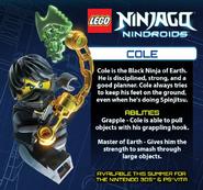 LEGO Ninjago Nindroids Cole
