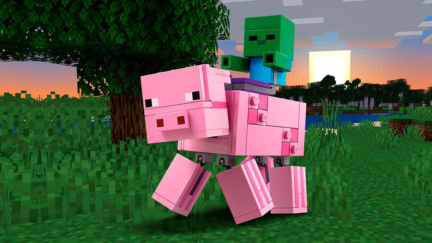 21157 Cochon et bébé zombie