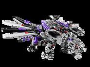 70725 L'attaque du dragon Nindroïde 3