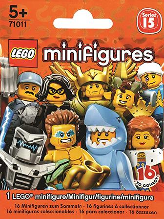 71011 Minifigures Série 15