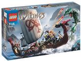 7018 La nave vichinga contro il serpente Midgard