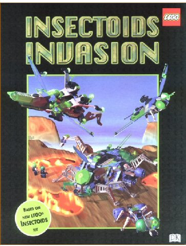 Insectoids Invasion - An Interactive Puzzle Book