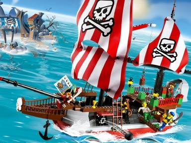 7075 Captain Redbeard's Pirate Ship