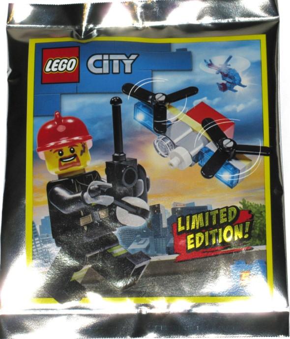 952002 Fireman and Drone