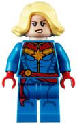 LEGO Captain Marvel 2020 (Alternate face)