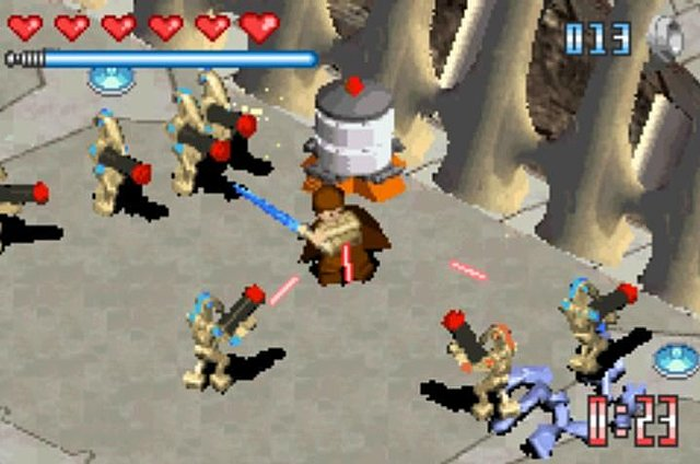 LEGO Star Wars: The Video Game (Game Boy Advance)