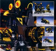 1988 Catalog UK Blacktron-Base