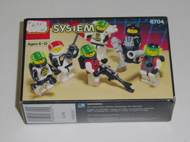 6704 Space Mini Figures