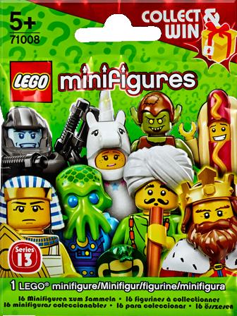 71008 Minifigures Série 13