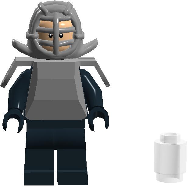 001 Kendo Armor Man