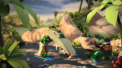 LEGO Chima - 70112 Krokodýlí svačinka