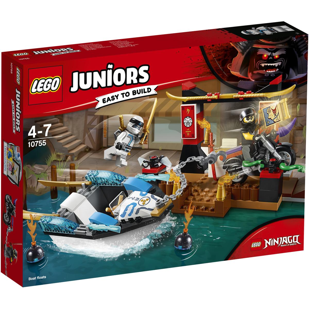 10755 Zane's Ninja Boat Pursuit