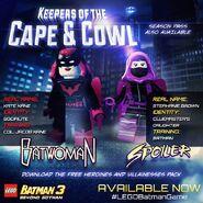 LEGO Batman 3 Heroines & Villainesses Pack Batwoman et Spoiler