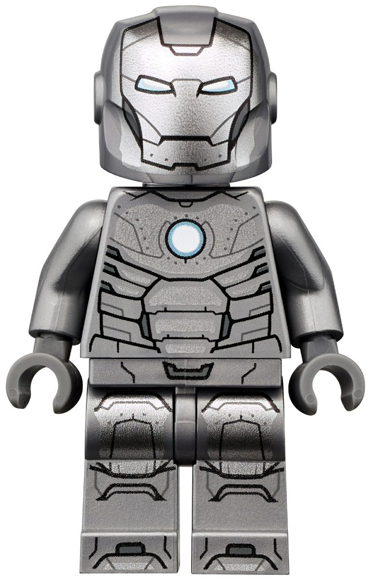Minifigure Pad Printing By Brick Mode Blue Custom Lego Invincible Iron Man