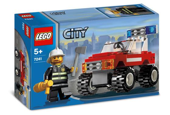 7241 Fire Car