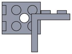 970036 2 x 2 Angle Plate