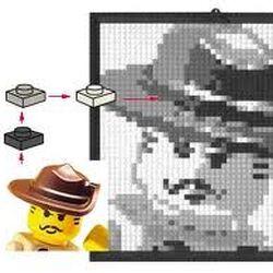 K34433 LEGO Mosaic Johnny Thunder