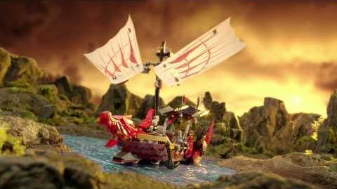 LEGO Ninjago - Rattlecopter vs