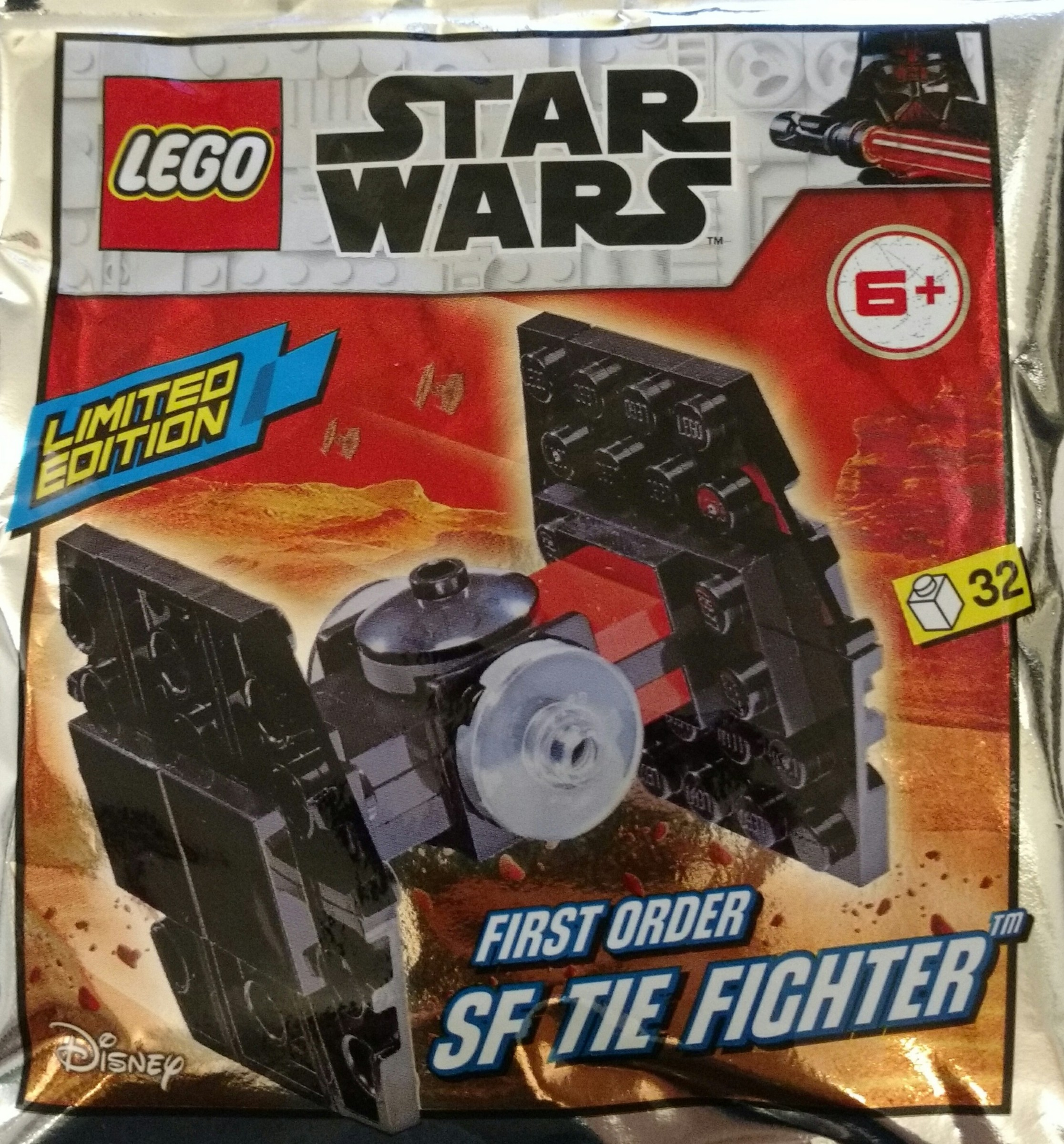 911953 First Order SF TIE Fighter