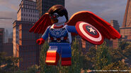 LEGO Marvel Avengers Capitaine Sam Wilson