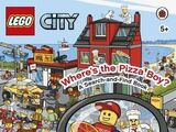 LEGO City: Where's the Pizza Boy? A Search-and-Find Book