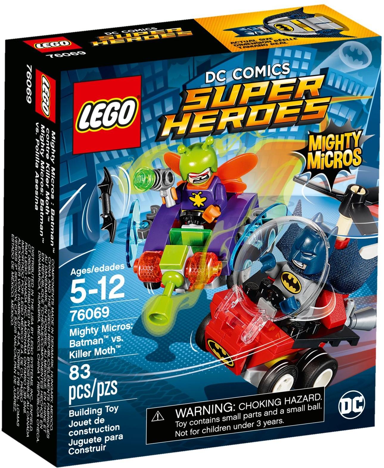 76069 Mighty Micros: Batman vs. Killer Moth