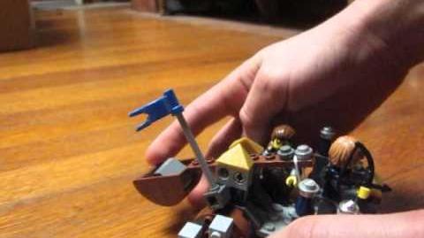 Catapult Firing Test