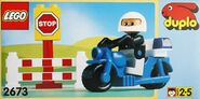 DUPLO Police Motorcycle