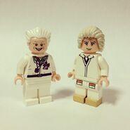 Doc Brown versions LEGO et Team BTTF