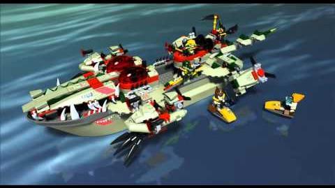 LEGO Chima 70006 - Craggerův krokodýlí člun