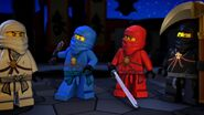 Ninjas-La légende de Ninjago