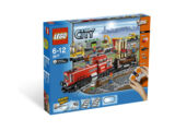 3677 Red Cargo Train