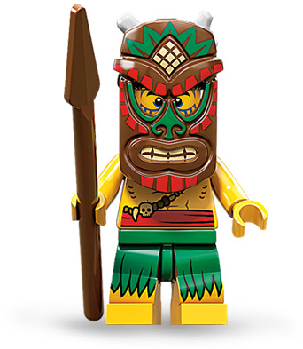 Insel-Krieger (Collectible Minifigures)