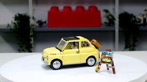 LEGO Creator Expert Fiat 500 LEGO Designer Video 10271