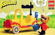 Roger Raccoon's Sports Car