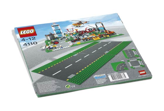 4110 Straight Road Plate