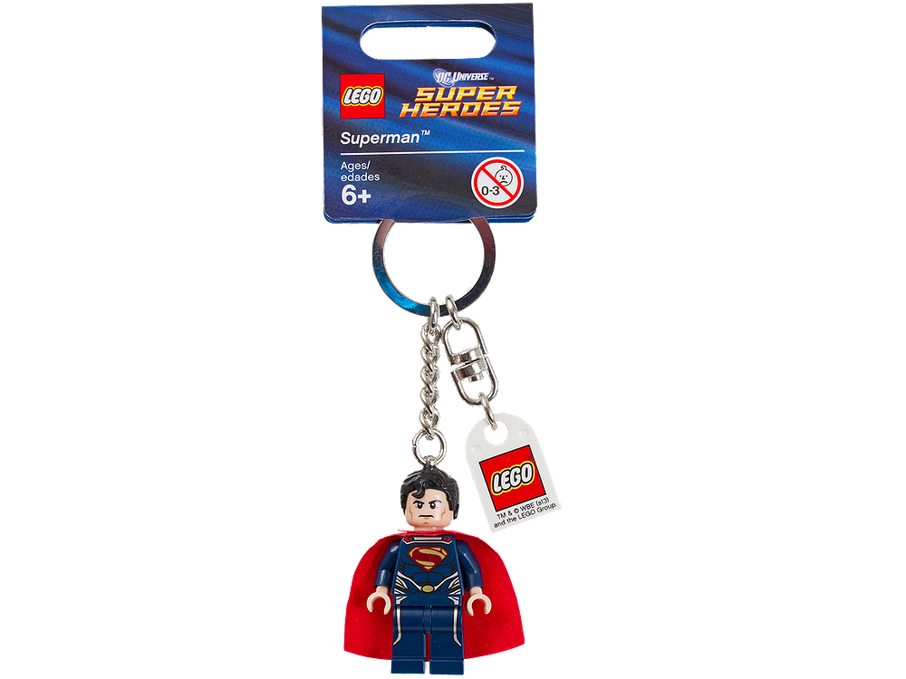 850813 DC Universe Super Heroes Superman Key Chain