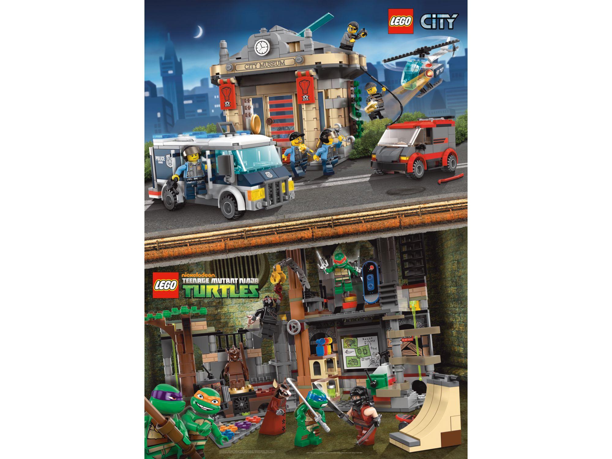 5002445 City Teenage Mutant Ninja Turtles Poster