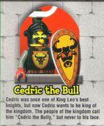Lego Mania Cedric bio