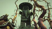 Sensei Yang statue-Le temple hanté