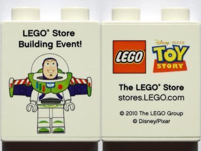 40066pb380 Promotional Buzz Lightyear Duplo Brick