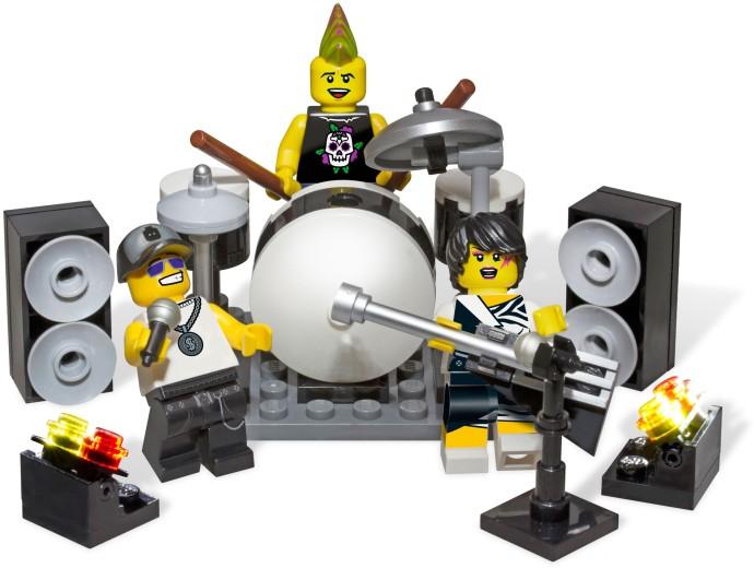 Rockband Minifiguren-Zubehör-Set 850486