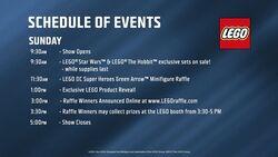 SDCC Programme 21 juillet 2013