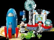 10774 La fusée spatiale de Mickey Mouse et Minnie Mouse 2