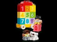 10954 Le train des chiffres - Apprendre à compter 4